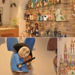 Drewniane ręcznie produkowane anioły i szopki bożonarodzeniowe dobre na prezent